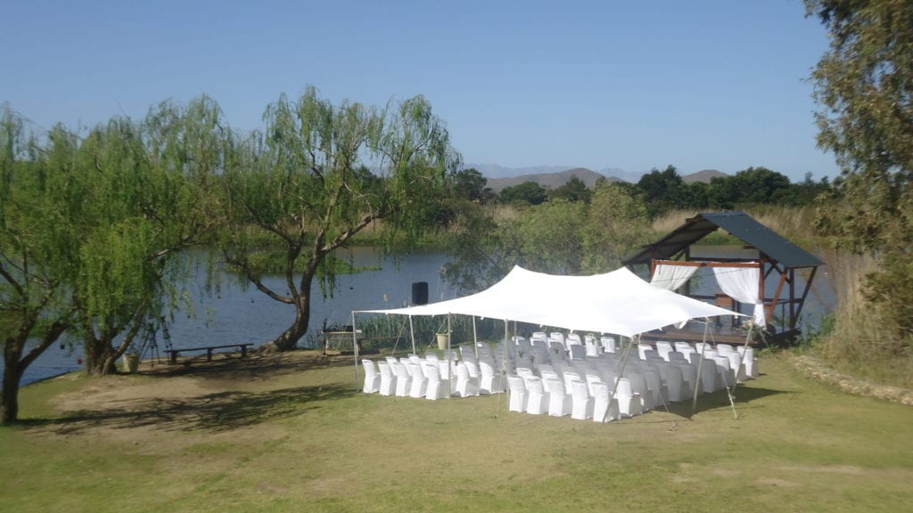 romantic rustic wedding venue on the breede river cape town south africa